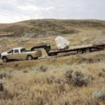 Skull is on the trailer and secured. Now we have to get out of the badlands.